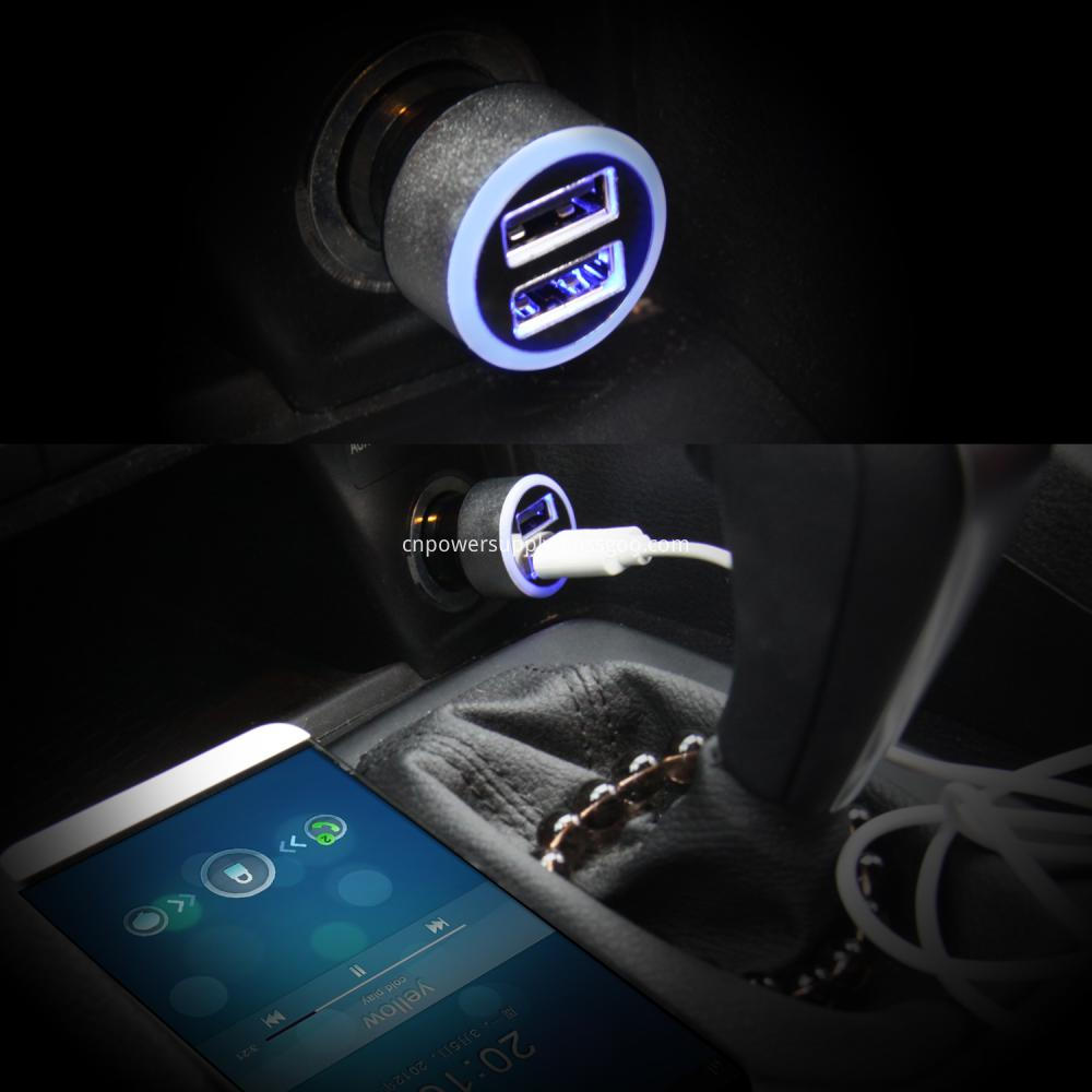 Dual Port Car Charger