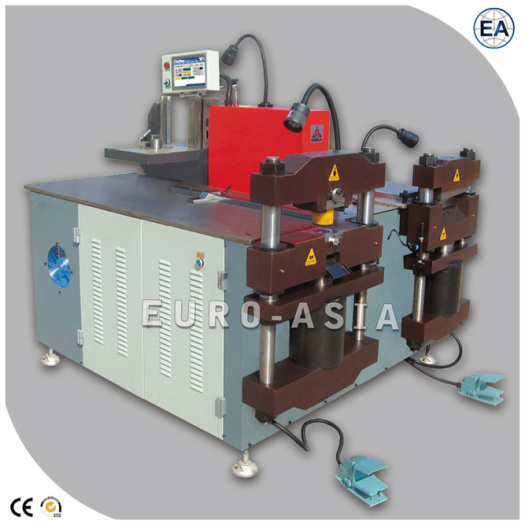 Busbar Processing Machine With Punching shearing and bending