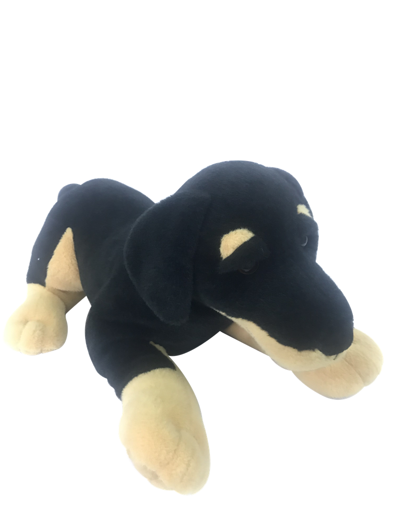 Black Plush Dog