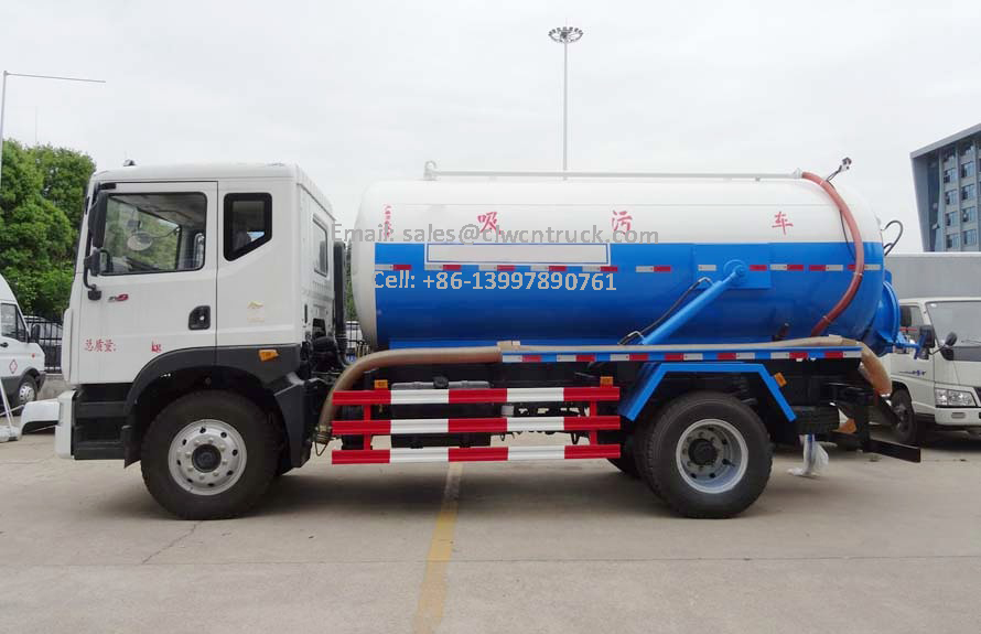 Waste Tanker Truck For Sale
