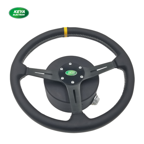 Steering wheel steering gear motor