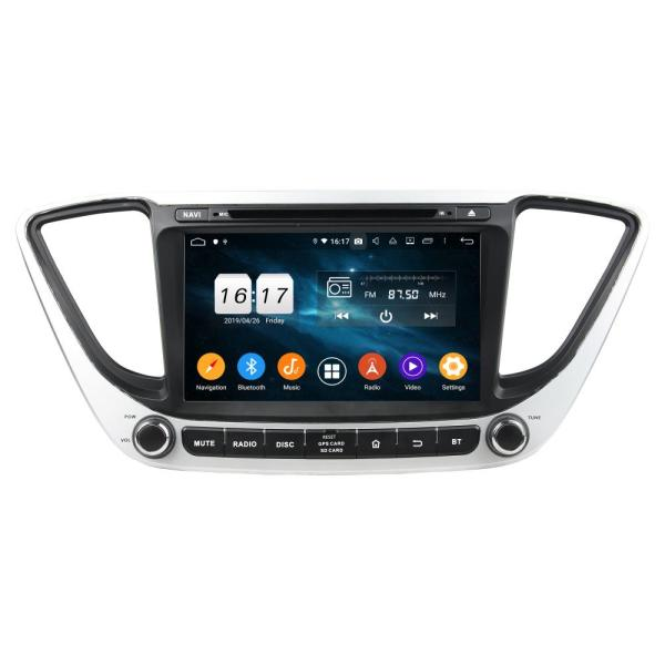 car dvd player for Verna 2017