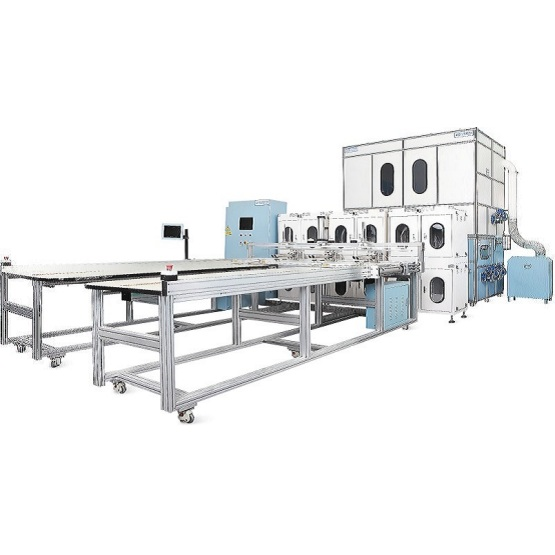 High Speed Feather Quilt and Pillow Making Machine