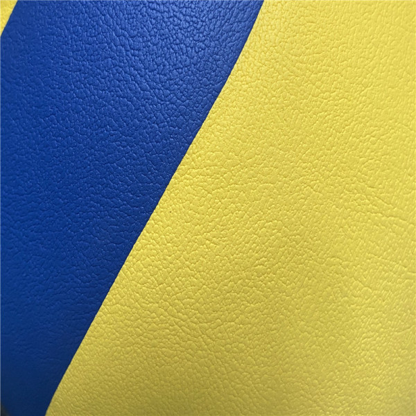 Custom Eco-friendly Embossed PVC Leather for Baseball