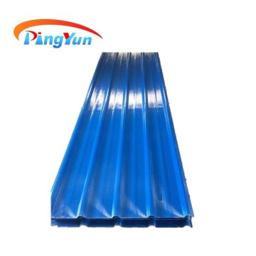 FRP transparent corrugated  roofing sheet