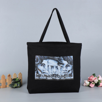 Custom Recyclable  Canvas Cotton Cloth  Bag