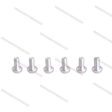 M3X12mm 7075 aluminum botton head screw for drone