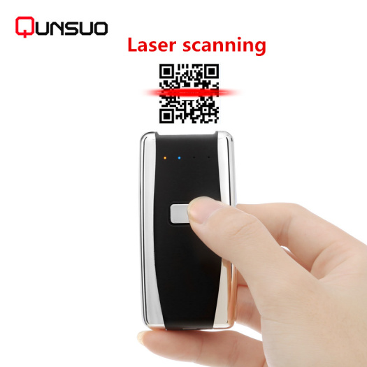 Multi language supported Portable bluetooth barcode scanner