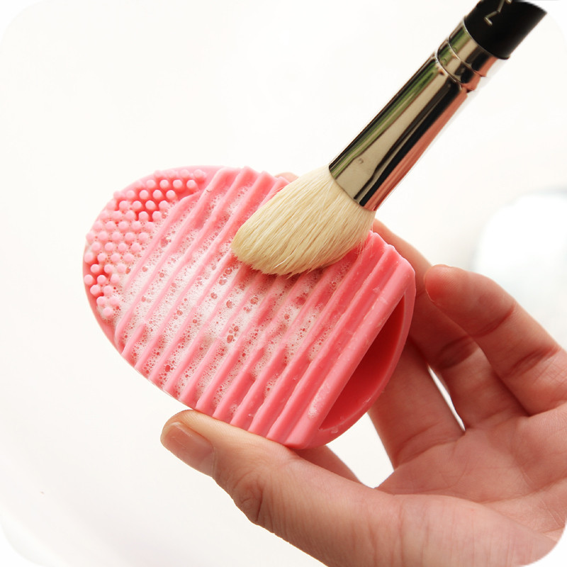 Cleaning Tool Silicone Brush Egg
