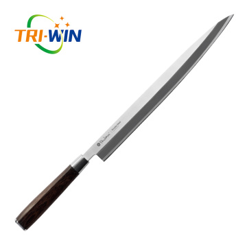 Powdered High Speed Steel sashimi slicing knife