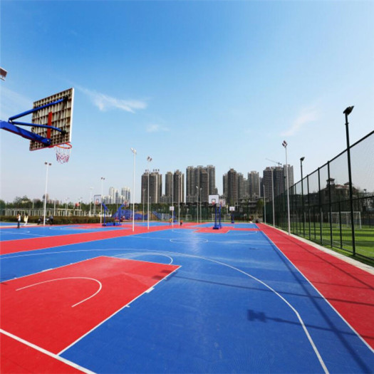 Grid Interlocking Sports floor outdoor court floor