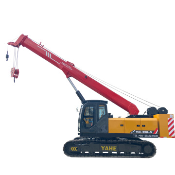 Mini crawler crane can hold 25t