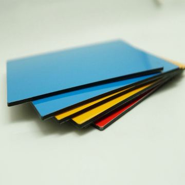 4mm PVDF aluminium composite panel for cladding