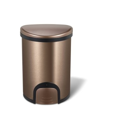 Fashion Style Household Foot Open Trash Can