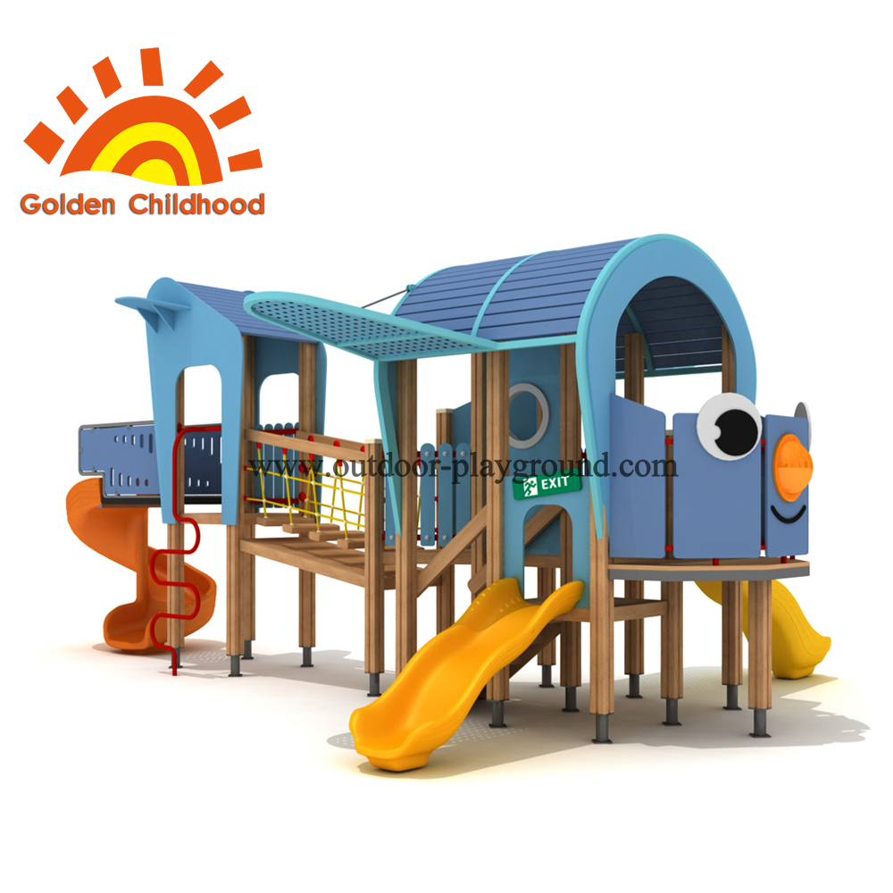 Helicopter Outdoor Playground Equipment