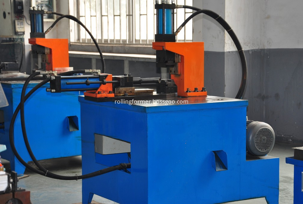 tube holes punching machine