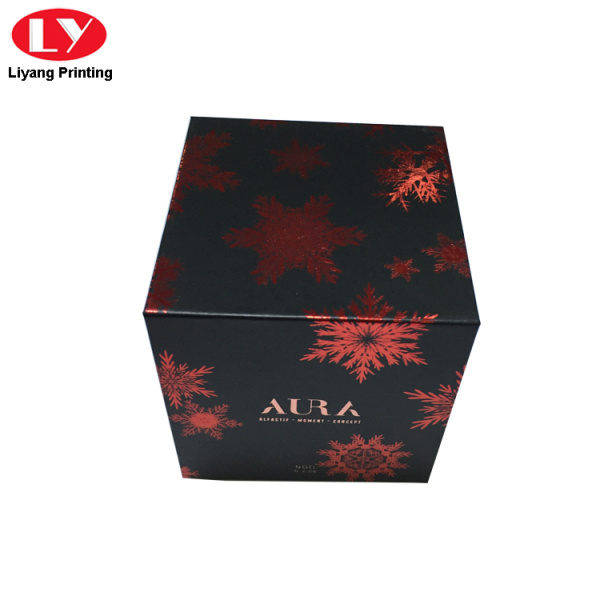 High quality paper gift box with magnetic