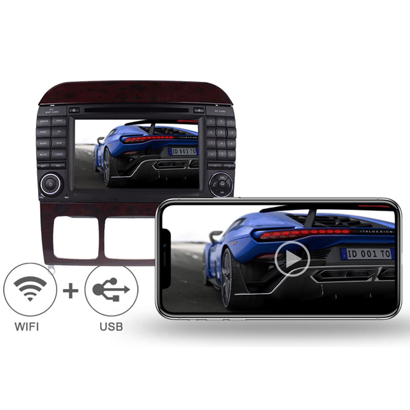 Multimedia Player Car for Benz W220