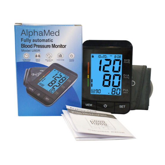 FDA Approved Wrist Blood Pressure Monitor BP Apparatus