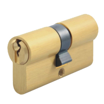 euro profile brass lock cylinder