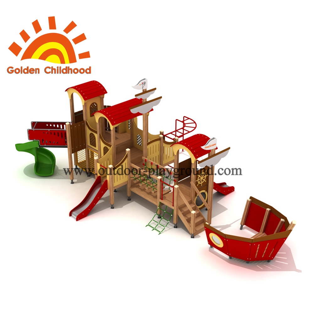 Combination Ship Mixed Outdoor Playground