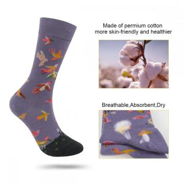 Women's Novelty Crew Socks Funny Colorful