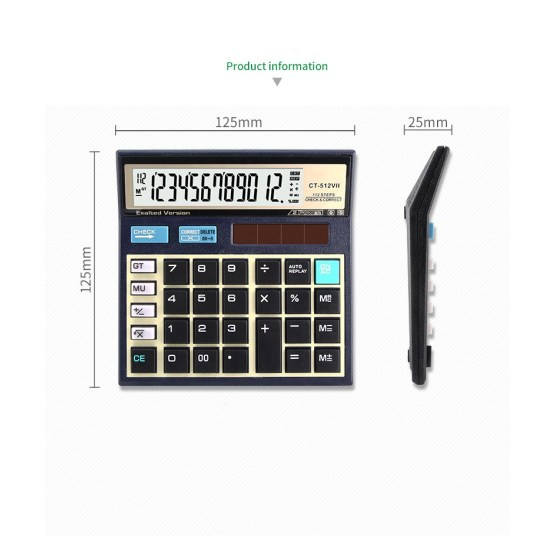 112 Steps Desktop Calculators with big