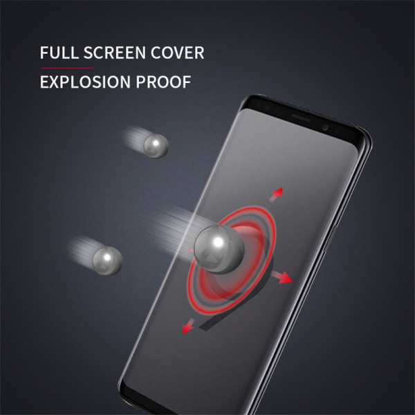samsung s9 plus curved tempered glass screen protector