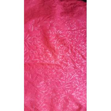 100% Polyester Microfiber Embossed Fabric