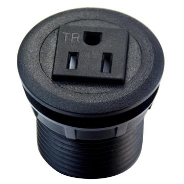 US Single Power Outlet Strip For Furniture