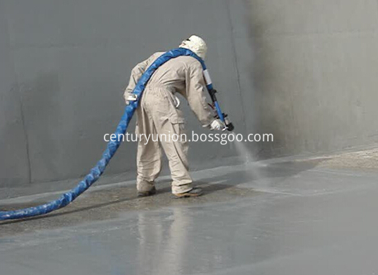 Spray Polyurea Surface Coating