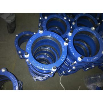 PE flange adaptor &retraint coupling