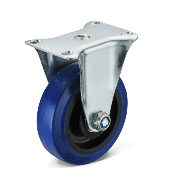 The Elastic Rubber Fixed Caster Wheels