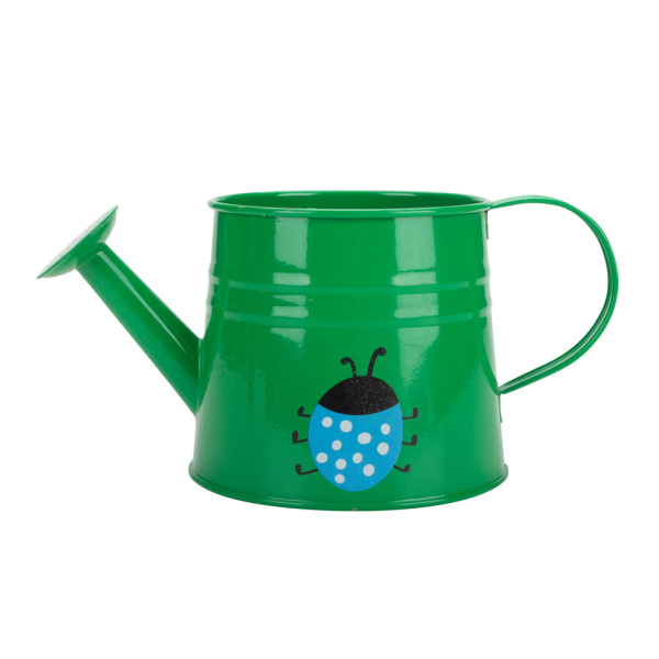 Animal Painted Metal Indoor Watering Can