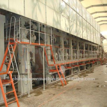 Corrugated Fluting Paper Making Machine