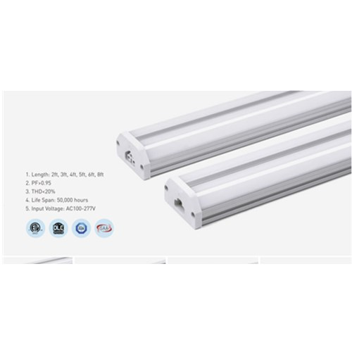 15W 3000K Aluminum 4ft LED Tube Light