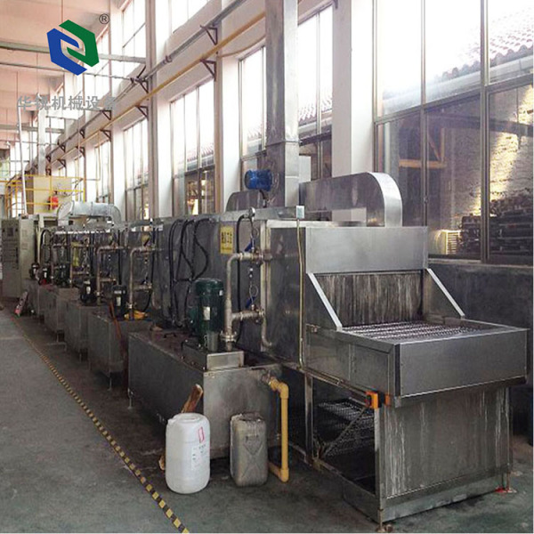 Customized high temperature curing oven for coating line