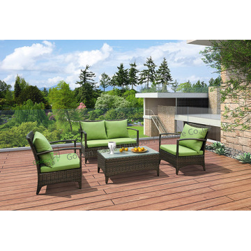 UV-resistance Wicker Garden Furniture Sofa Set