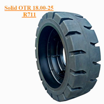 Industrial OTR Dumpers Solid Tire 18.00-25 R711