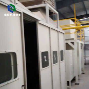 High Efficient Stable Omega Electrostatic Semi-automatic Spray Booth