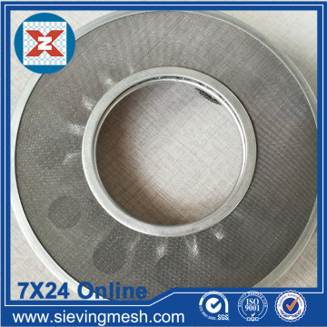 Perforated Metal Filter Disc