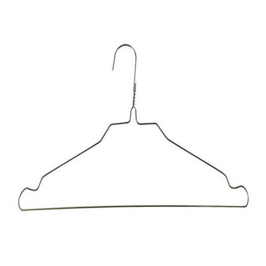 16inch 2.0mm Powder Coated Garment Bulk Wire Hangers
