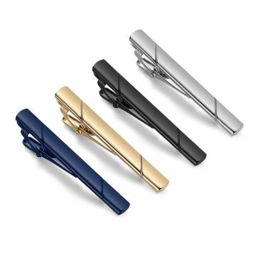 Tie clip for men's necktie clips