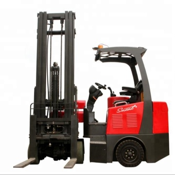 THOR 1500kg articulated narrow roadway battery forklift truck