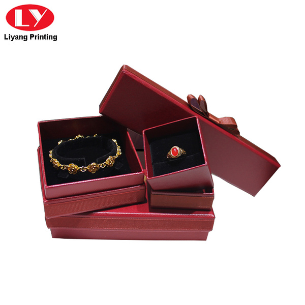 gift box set jewelry bracelet ring necklace box