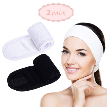 LADES 2 Pcs Facial Spa Headband