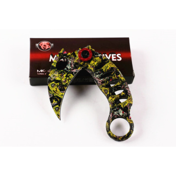 cs go Karambit Folding Pocket Knife
