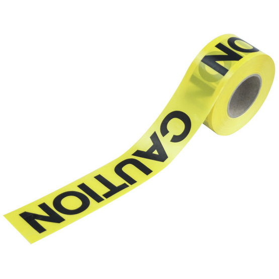 PE Warning Barrier Tape with Warnings