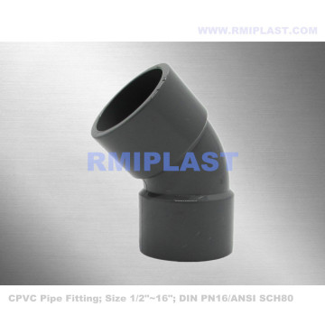 CPVC 45 Degree Elbow DIN PN16