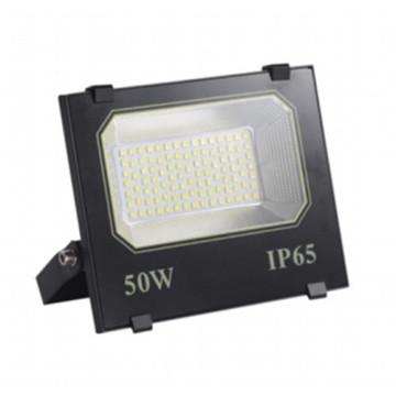 Black Aluminum 50W LED Flood Light